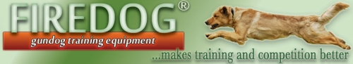 Firedog - Gundog Training Equipment