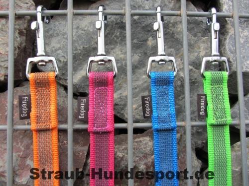 gummierte Nylonleinen von Firedog in peppigen Farben