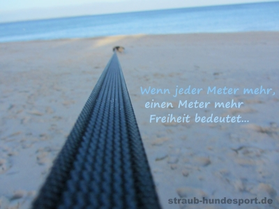 Wenn jeder Meter mehr, einen Meter mehr Freiheit bedeutet...